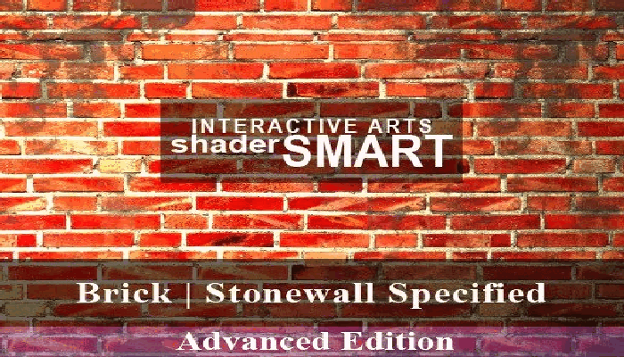 Brick, Stonewall Specified Shader Smart, Advanced Edition