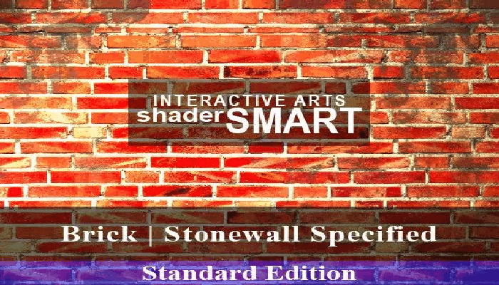 Brick, Stonewall Specified Shader Smart, Standard Edition