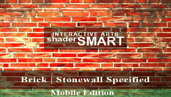 Brick, Stonewall Specified Shader Smart, Mobile Edition