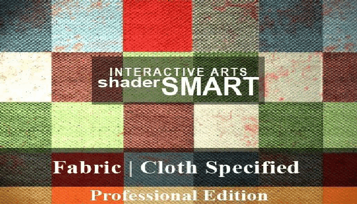 Fabric, Cloth Specified Shader Smart, Professional Edition