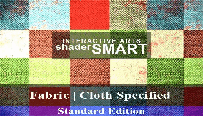 Fabric, Cloth Specified Shader Smart, Standard Edition