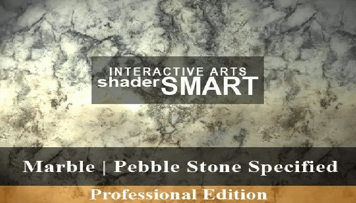 Marble, Pebble Stone Specified, Shader Smart, Professional Edition