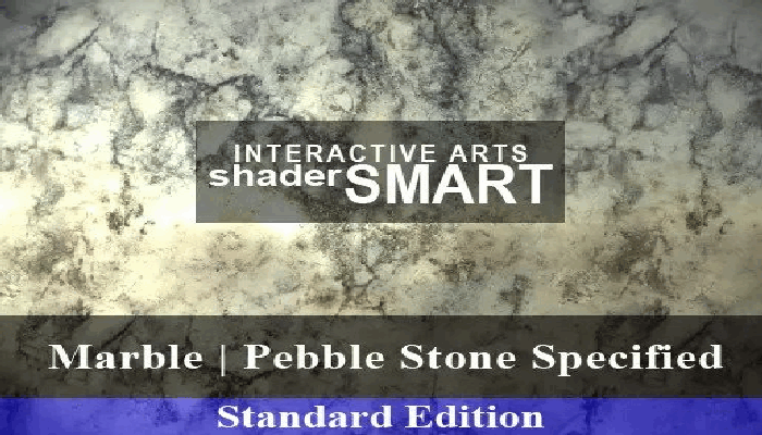 Marble, Pebble Stone Specified, Shader Smart, Standard Edition