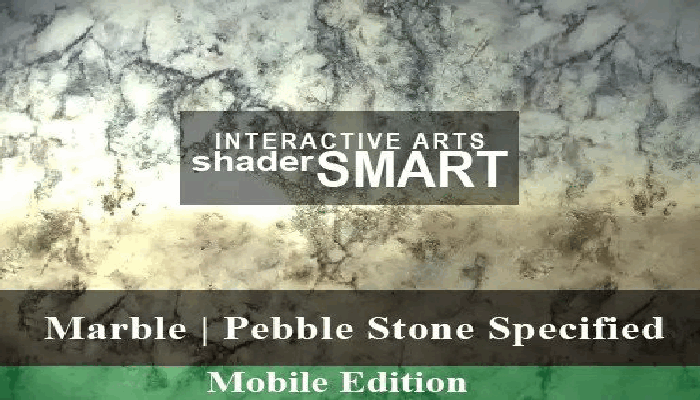 Marble, Pebble Stone Specified, Shader Smart, Mobile Edition
