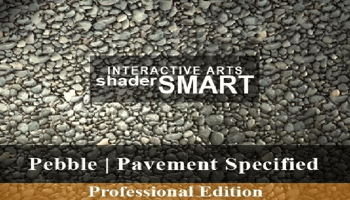 Pebble, Pavement Specified, Shader Smart, Professional Edition