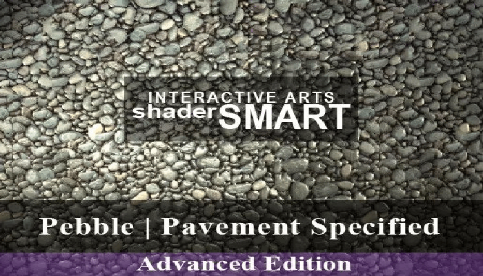 Pebble, Pavement Specified, Shader Smart, Advanced Edition
