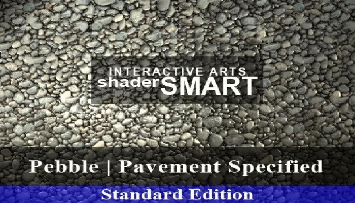 Pebble, Pavement Specified, Shader Smart, Standard Edition