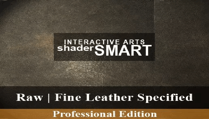 Leather Specified, Shader Smart, Professional Edition