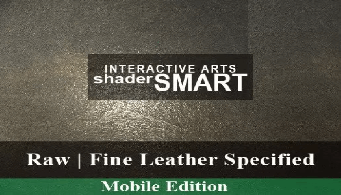 Leather Specified, Mobile, Shader Smart, Mobile Edition