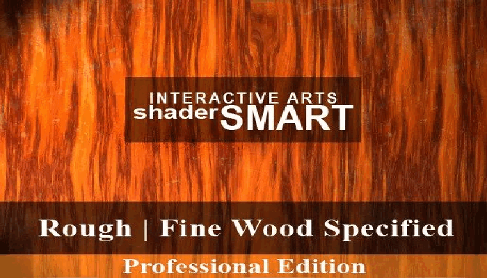 Wood Specified, Shader Smart, Professional Edition