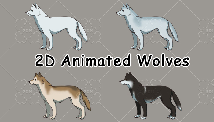 Animated Wolf assets