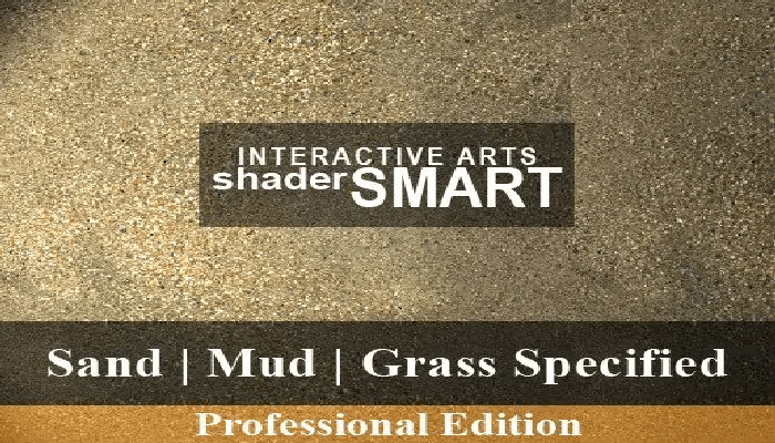 Sand, Mud, Grass Specified, Shader Smart, Professional Edition