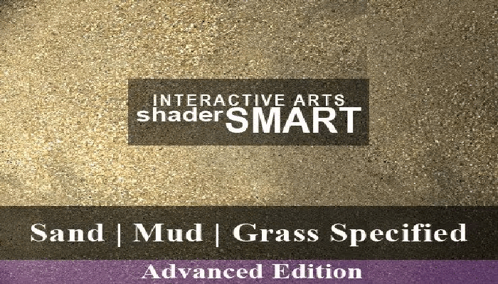 Sand, Mud, Grass Specified, Shader Smart, Advanced Edition
