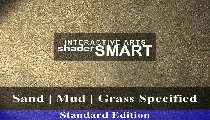 Sand, Mud, Grass Specified, Shader Smart, Standard Edition