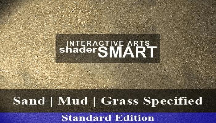 Sand, Mud, Grass Specified, Shader Smart, Standard Edition