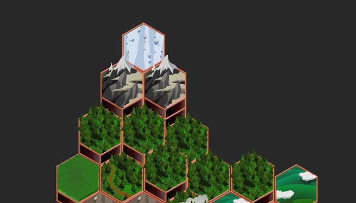 Hexagon Terrain Tiles