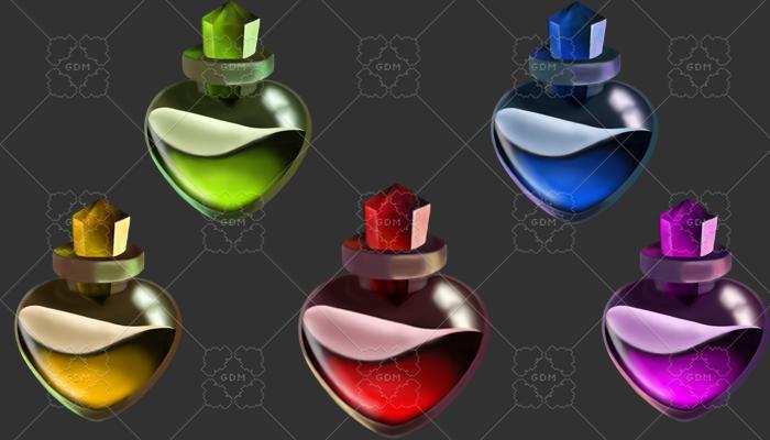 Bottle of elixir