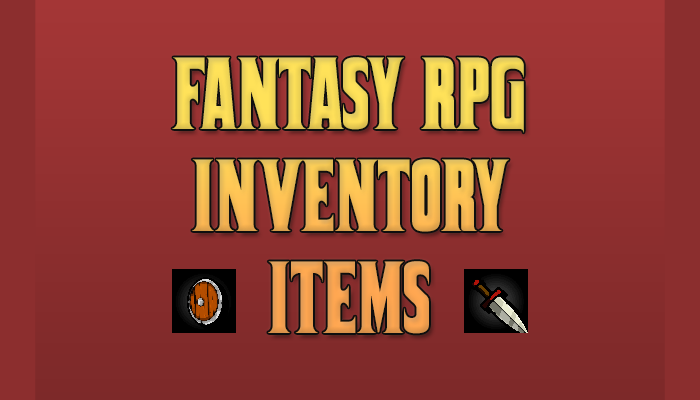 Fantasy RPG Inventory Items Pack