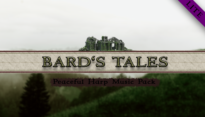 Bard's Tales – Peaceful Harp Music Pack LITE