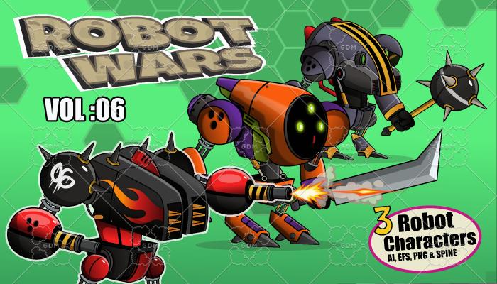 Robot Wars Vol: 06