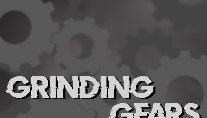 Grinding gears and mechanisms