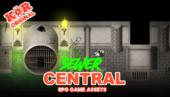 Sewer Central RPG Tileset