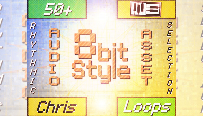 8 Bit Style Rhythmic Short Loops for Logic Games (by Chris)