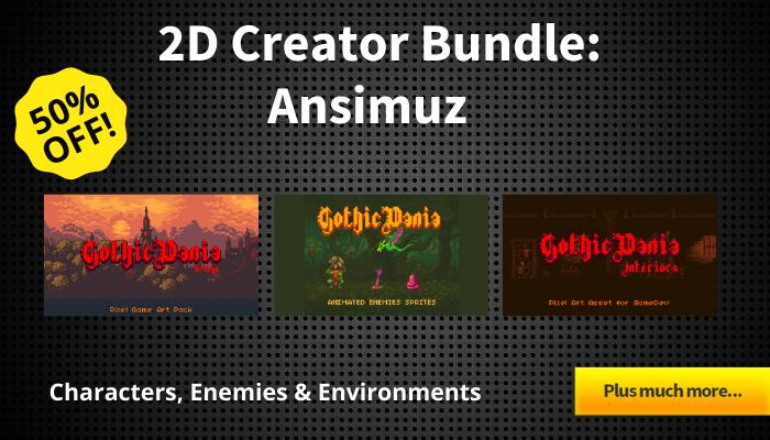2D Creator Bundle – Ansimuz