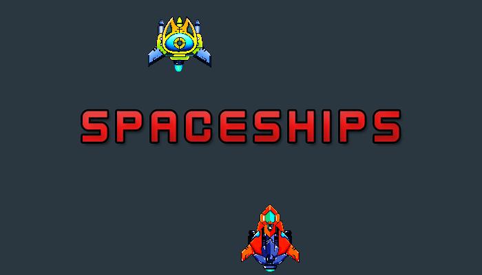 Pixel Spaceship Pack