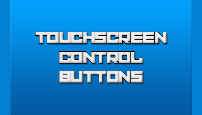 Touchscreen Control Buttons Pack