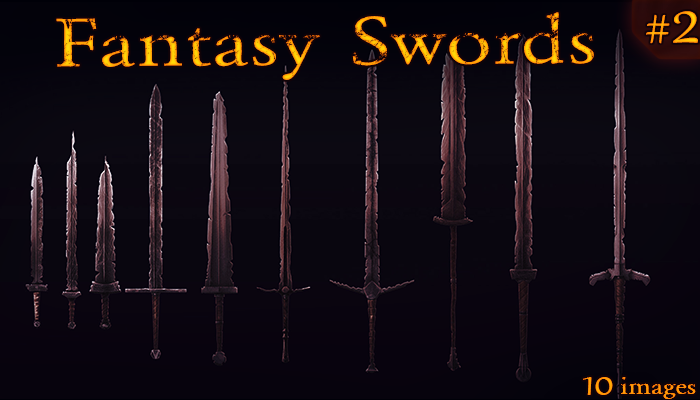 Fantasy Weapon: Ancient Swords set