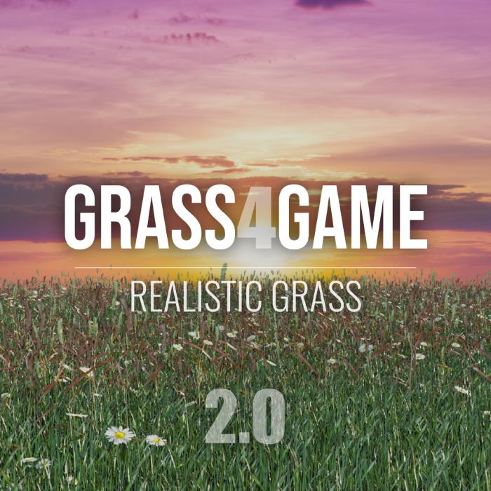 Grass 4 Game – Unreal Engine (UE4)