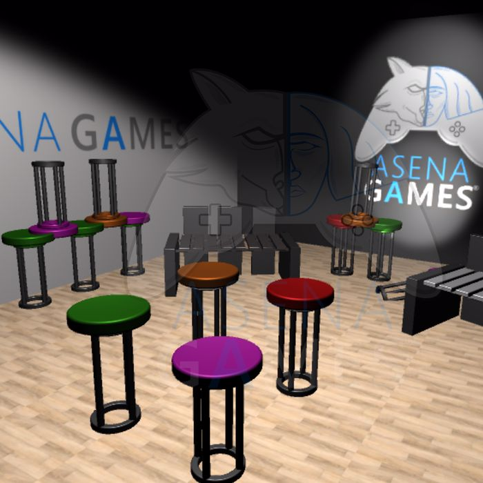 OUTDOOR SEATING ASSETS BY ASENA GAMES STUDIO
