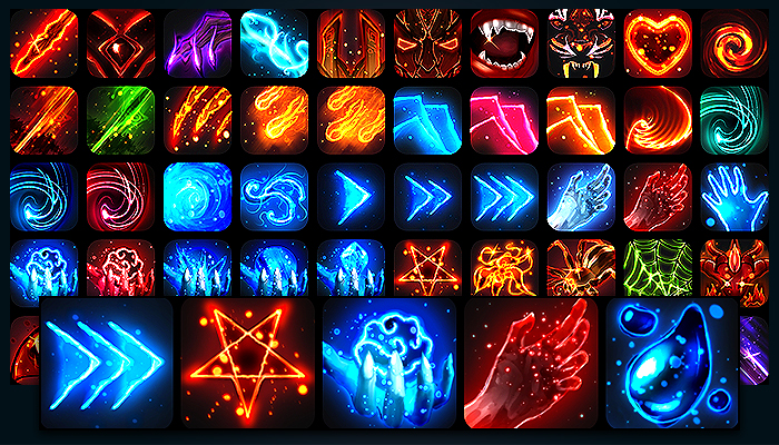 Assets [+50] Skill & Abilites Icon Pack #2