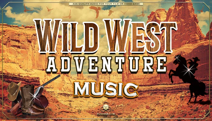 Wild West Country Music – Western Gunslinger Cowboy Ranch Farm, AAA Royalty-Free Music Audio Library