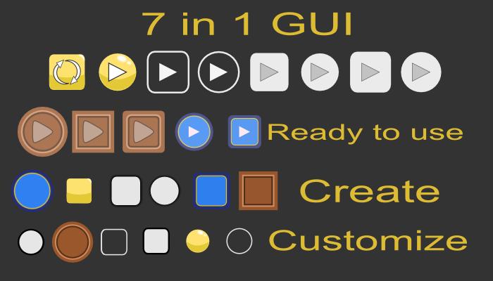 7 in 1 GUI Pack