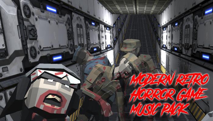 Modern Retro Horror Game Music Pack
