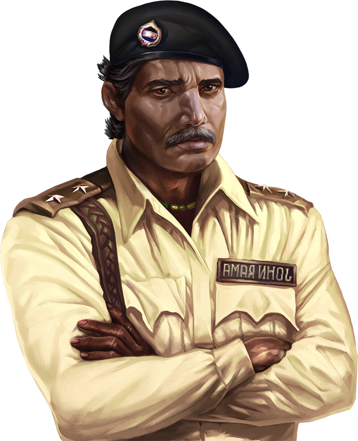 Indian Police Chief