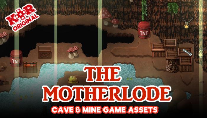 Motherlode Cave & Mine Tileset
