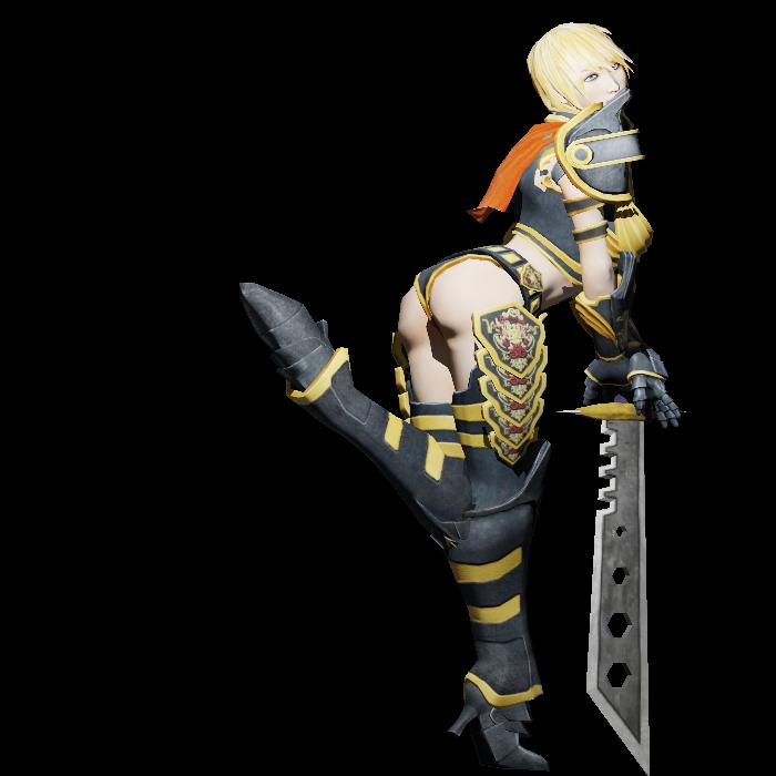 2d maria warrior girl