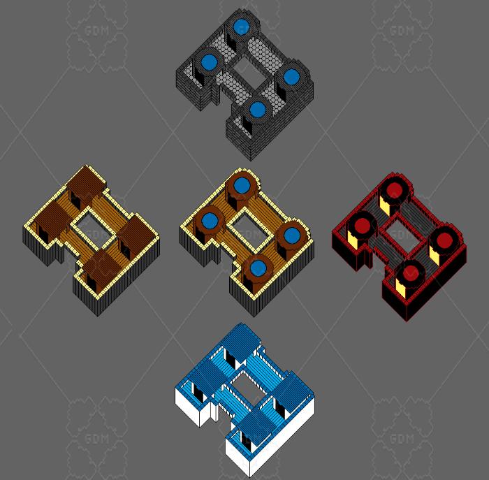 2D Isometric Barracks