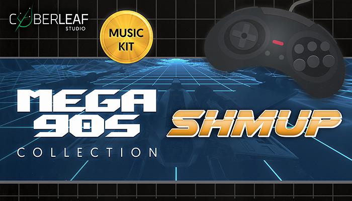 Mega 90s : shmup – music kit