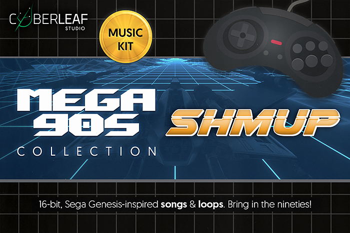 Mega 90s : shmup – music kit