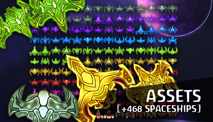 Assets: Spaceships [+468]