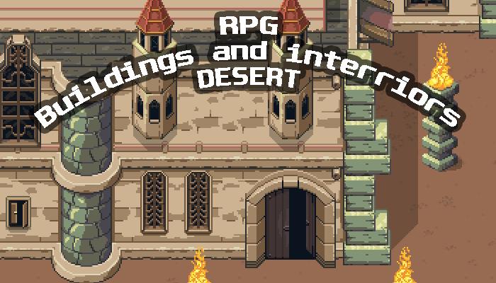 RPG Buildings DESERT