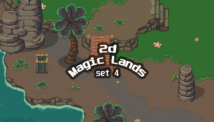 2D Magic Lands SET4