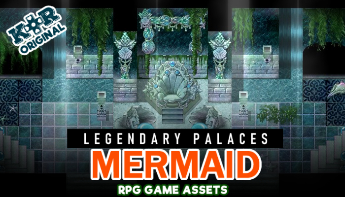 Legendary Palaces ~ Mermaid Tileset for RPGs