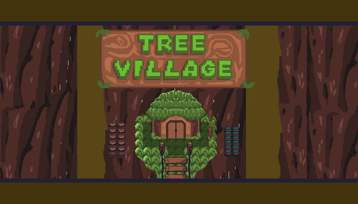 RPG Tree Village Tileset