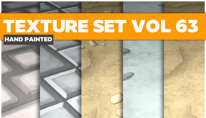 Stylized Floor Vol 63 – Hand Painted Textures