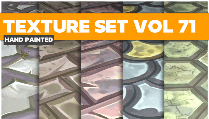 Stylized Mix Vol 71 – Hand Painted Textures